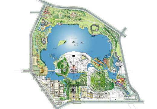 大唐芙蓉园景观设计总平面图