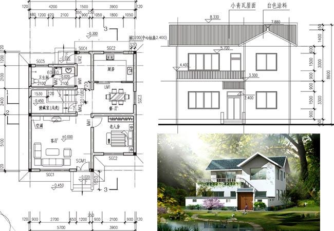 内容 及 整套 图纸 请; 房屋设计图; 新农村建设设计图新农村房子设计图片