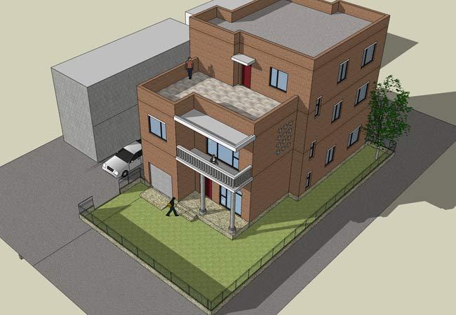 农村房屋平面效果图 农村房屋平面设计 农村房屋平面图