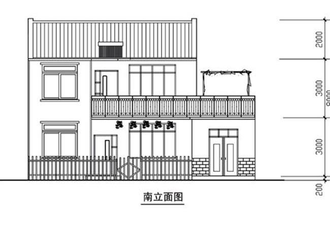 农村建房图纸9x11