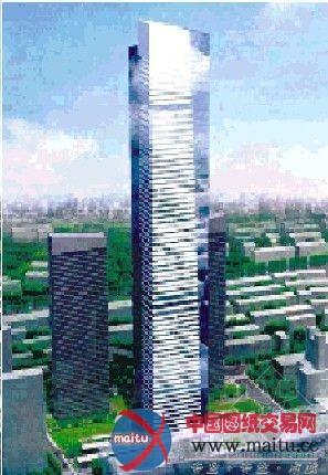 锡城第一高楼钢结构即将制作安装