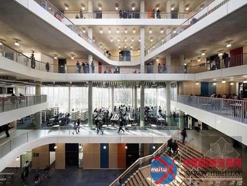 威斯敏斯特學院新教學樓-室內設計-中國圖紙交易網