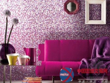 彩色马赛克风格墙面装饰-室内设计-中国图纸交易网