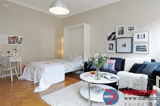 卧室刮起北欧风-室内设计-中国图纸交易网