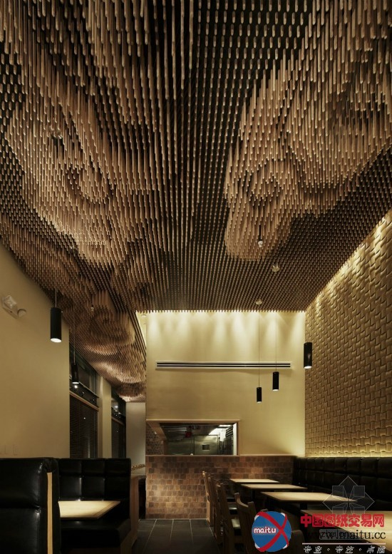 la餐厅的创意天花板-室内设计-中国图纸交易