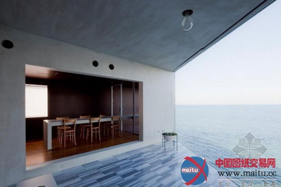 日本横须贺市海边别墅-室内设计-中国图纸交易网