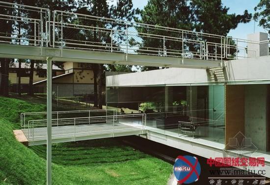巴西mmbb设计的山林别墅-建筑设计-中国图纸交易网