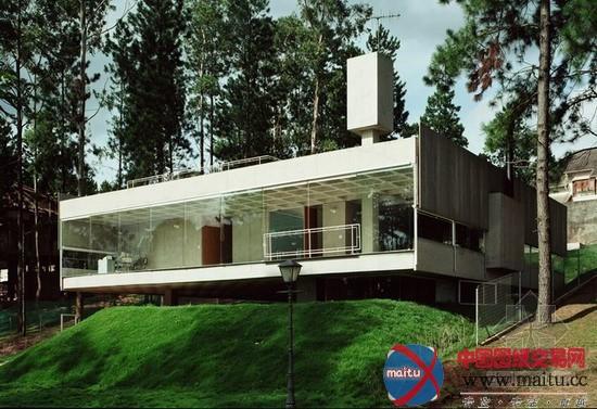 mmbb_巴西mmbb设计的山林别墅