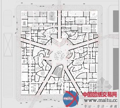 博物馆广场设计的平面图纸图片 农村房屋设计平面图纸,二层