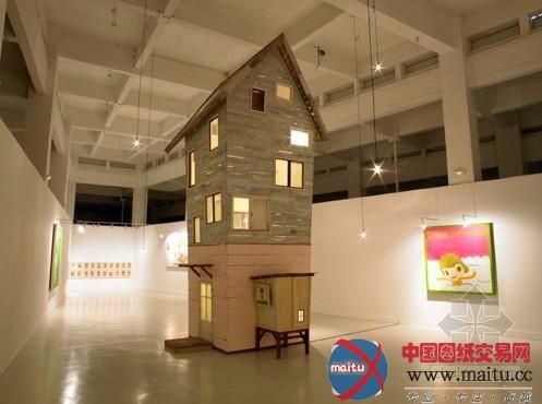 奈良美智的小木屋-室内设计-中国图纸交易网