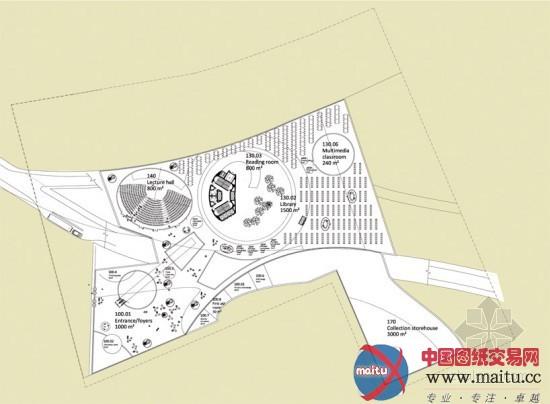 influx设计的新北市立美术馆设计方案