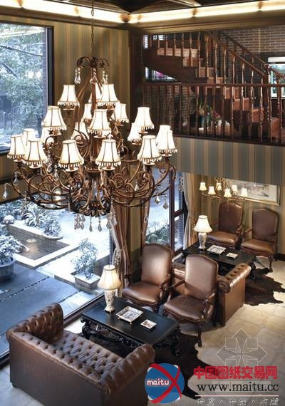 欧式办公空间-室内设计-中国图纸交易网