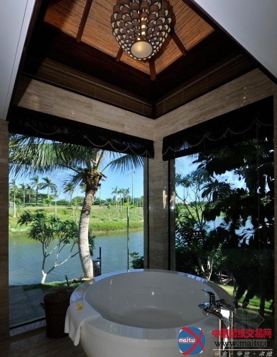 三亚亚龙湾度假酒店-室内设计-中国图纸交易网