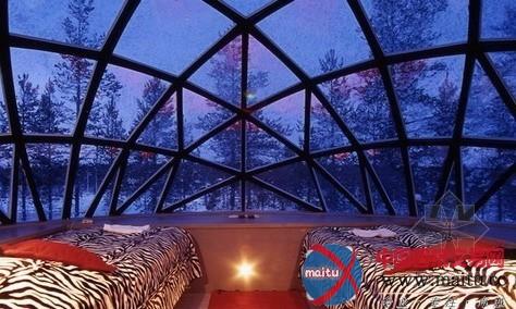 芬兰玻璃屋酒店-室内设计-中国图纸交易网