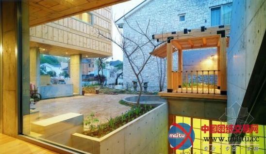 韩国现代混泥土木板房设计-室内设计-中国图纸交易网