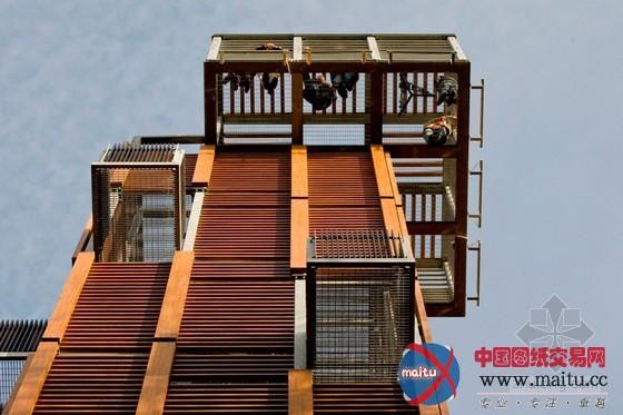 architects设计的拉脱维亚尤尔马拉瞭望塔