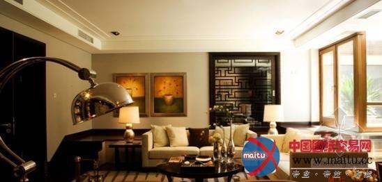 新中式风格案例欣赏-室内设计-中国图纸交易网图片
