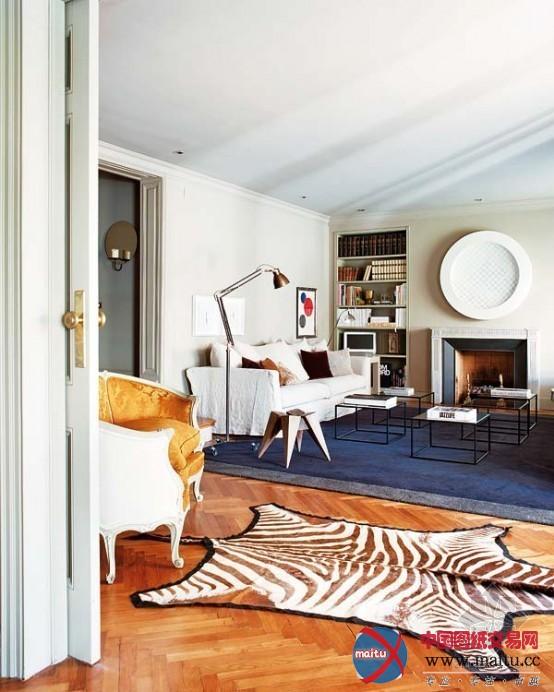 混搭风格公寓-室内设计-中国图纸交易网