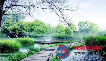 西安雁塔区皂河生态公园