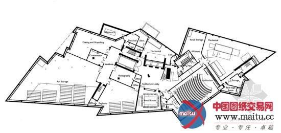 丹佛艺术博物馆-建筑设计-中国图纸交易网