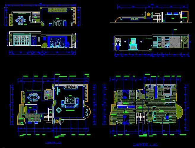 120平方的别墅设计图纸 图纸供应 中国图纸交易网