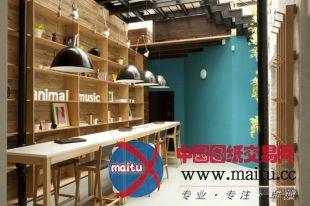 清新风格的音乐工作室装修设计