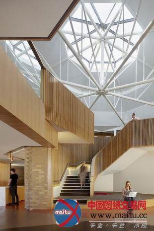 澳大利亚ormond学院图书馆室内设计