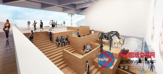 workac设计的美国加州大学美术馆-建筑设计-中国图纸