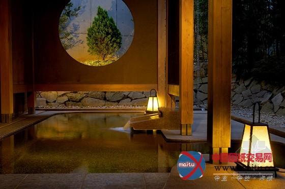 日本长野县界松本温泉旅馆设计-室内设计-中国图纸