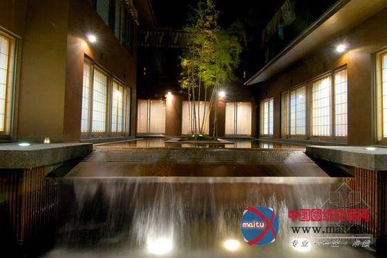 日本长野县界松本温泉旅馆设计
