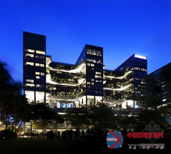 新加坡创新花园主题皮克林宾乐雅房屋制图酒店设计测绘图片