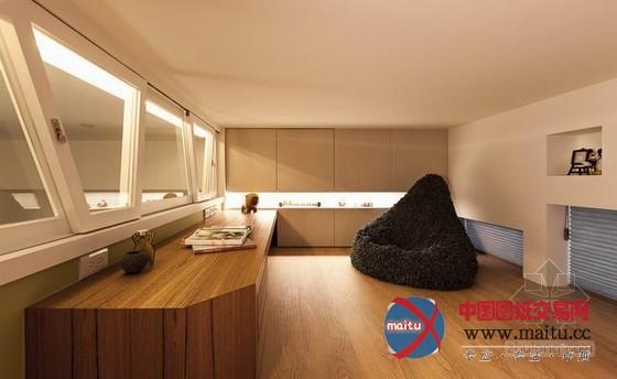台湾自然风格城市树屋住宅设计-室内设计-中国图纸
