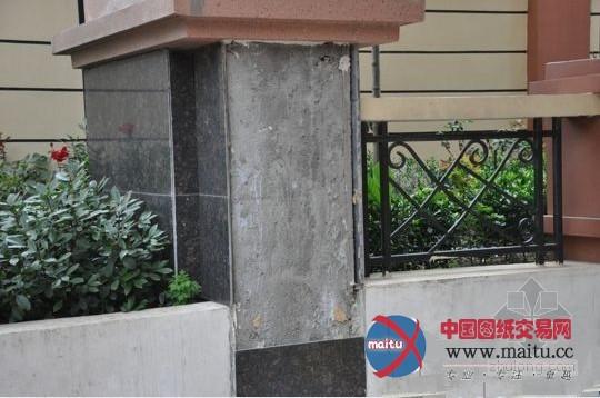 大理石铺装 院子装修效果图 常用的小区铺装