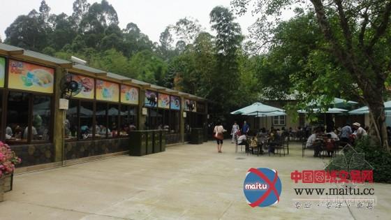 广州番禺长隆野生动物世界考拉餐厅设计