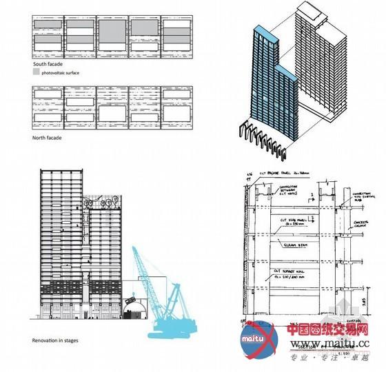 摘要:丰收(Harvest)项目是北欧建筑大年夜奖赛最后比赛冠军的四个项目之一。这是一个在原有建筑根本上的扩建项目,其扩建对象是奥斯陆一座叫Postgirobygget的高层办公楼这座办公楼因其地址是Biskop Gunnerus gate 14号而被昵称为BG14。作为设计方的AHA+ and SAAHA事务所希看经由过程这个项目对准一个重点:在兼顾建筑本身的经济型与合用性的同时,摸索出一条新的道路,让建筑具有足够的进步前辈性,以应付任何来自明天的挑战。  建筑设计:AHA+ and SAA