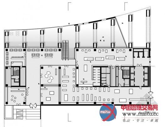 高木结构建筑 harvest高层办公楼 建筑设计 中国图纸交易网