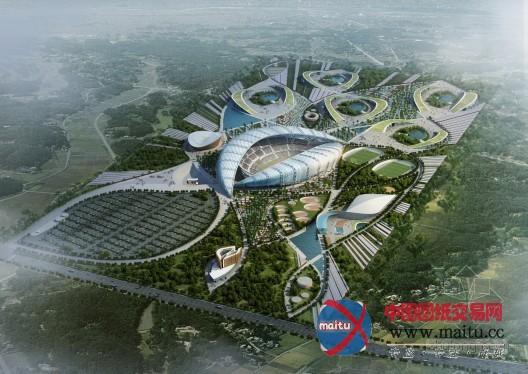 iad等设计的刚果泛非运动会场地规划方案