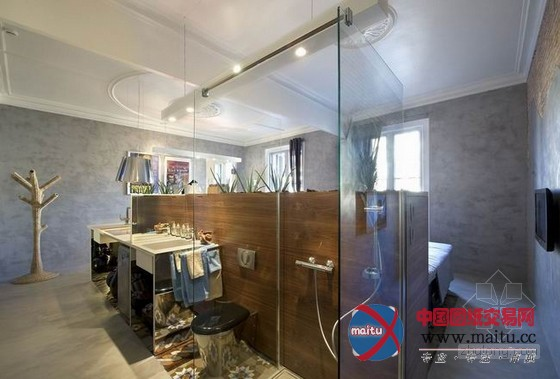 贝茨汽车旅馆主题套房装修设计-室内设计-中国图纸