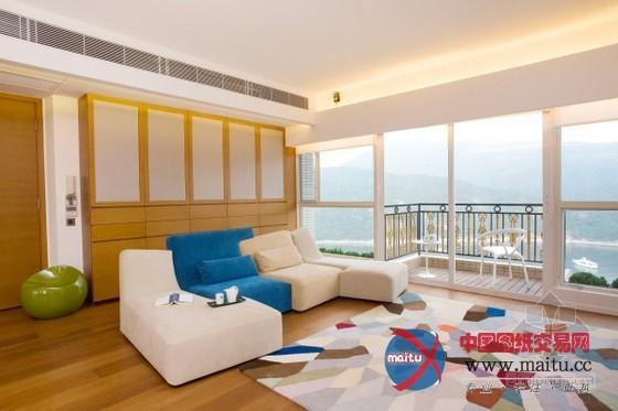 红山半岛;; 香港红山半岛公寓设计; 半岛简约公寓设计-深圳别墅设计