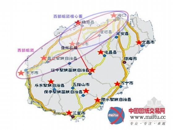 海南省铁路地图高清版