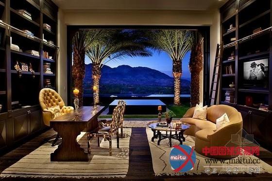 超豪华度假别墅装修 充满异国情调-室内设计-中国