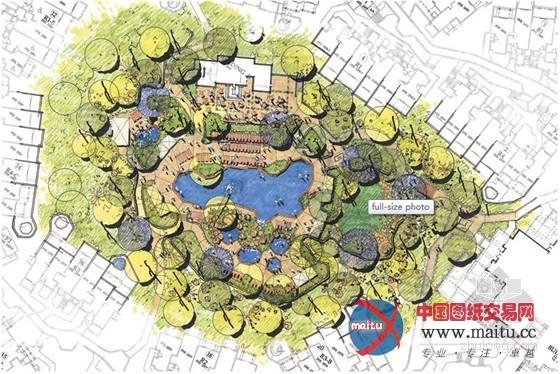 酒店景观设计平面图描图--酒店景观的塑造_风景园林景观精选_企业博客