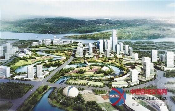 重庆市茶园新区水系城市设计方案揭晓-园林景观-中国