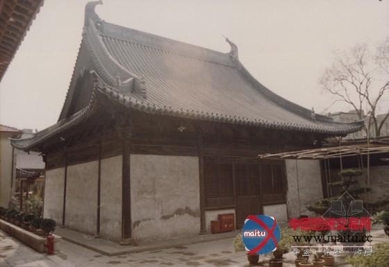 江南罕见的元代木结构建筑