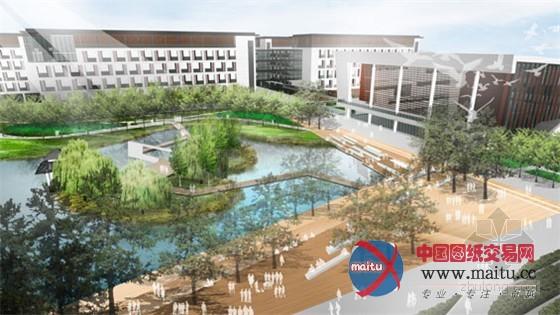 绿色校园设计:昆山西部高中总规划
