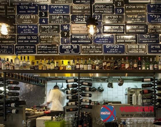 耶路撒冷wj餐厅设计 满满的回忆与故事