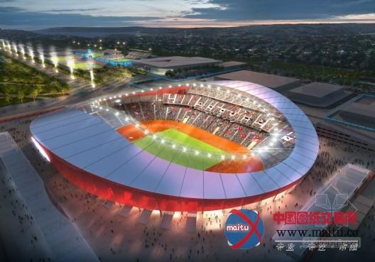 2020年東京奧運會主場館由扎哈·哈迪德設計