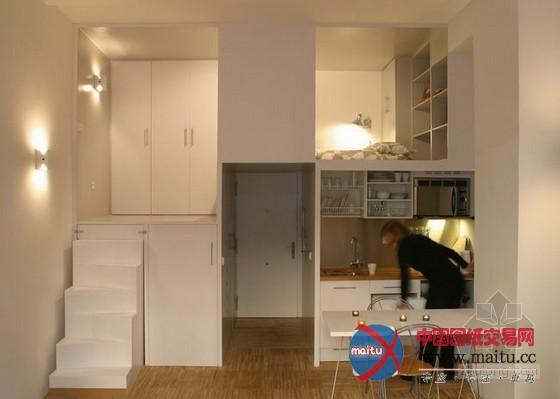 马德里28平米超小户型 家居空间利用十分巧妙