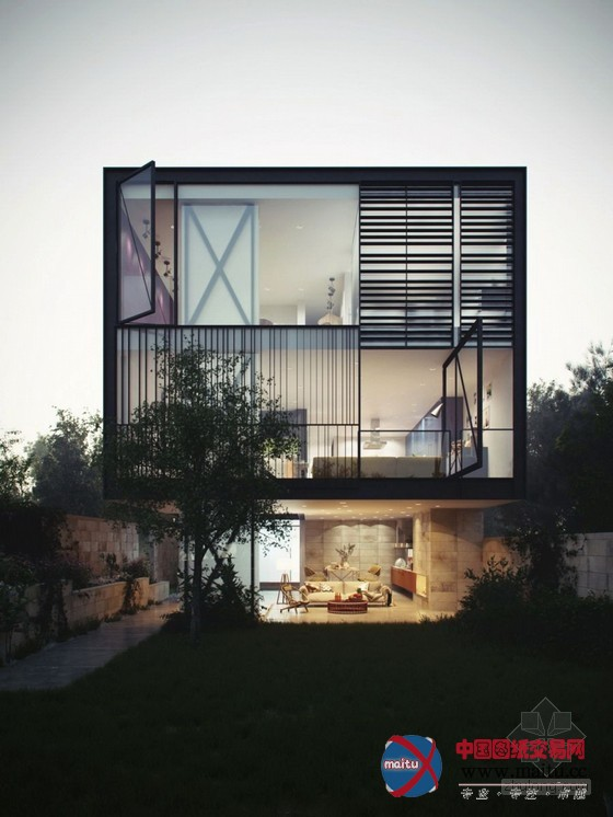 小型玻璃房子图片欣赏