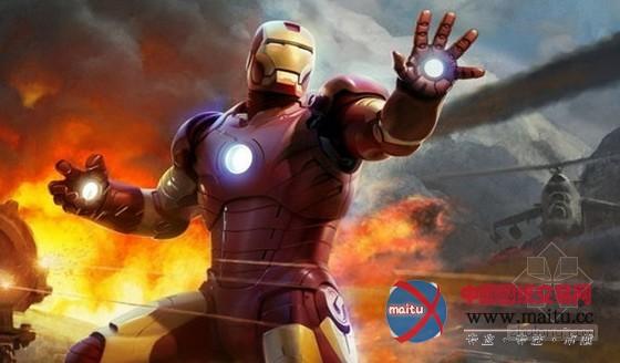 钢铁侠 代言国家电网 力推新能源 高清图片